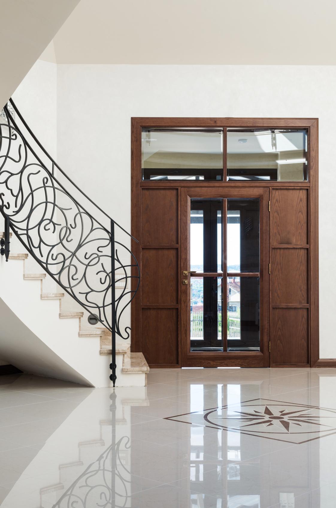 sauberlauf im eingangsbereich f r saubere b den im haus maler klotz. Black Bedroom Furniture Sets. Home Design Ideas