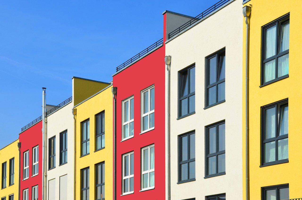Tapetenvielfalt Ohne Grenzen; Auch Fassaden Mögen Farbe!